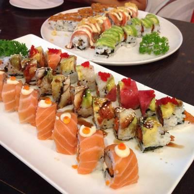 6โรล ที่ ร้านอาหาร Sushi House สาขา 1