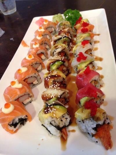 ซูชิโรล ที่ ร้านอาหาร Sushi House สาขา 1