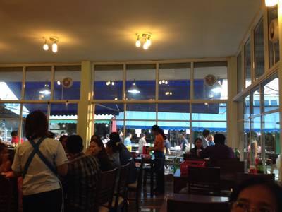 ภายในร้าน ที่ ร้านอาหาร จ่านูญ (จอ.หอ 7/08) ตลาดกลาง อยุธยา