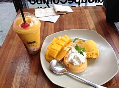 ร้านอาหาร Mango Tango สยามสแควร์