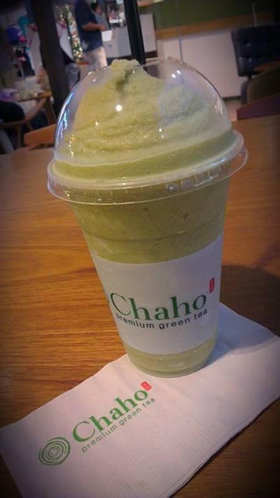 Matcha Milk Slurpee ที่ ร้านอาหาร Chaho เซ็นทรัลบางนา