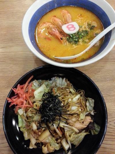 ฮะจิบัง ราเมง Big C รัชดา ที่ ร้านอาหาร Hachiban Ramen บิ๊กซี รัชดา