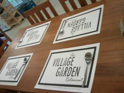 ร้านอาหาร The Village Garden Restaurant