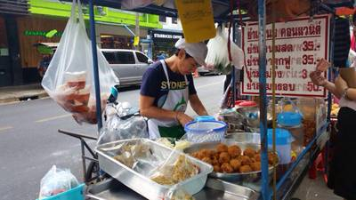 Thai street, street food, food vendor, thailand, thai food,