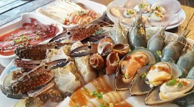 กุ้ง หอย ปู ปลา @กั๊ดฮิมมอ ที่ ร้านอาหาร กั๊ดฮิมมอ By R&j ม.แม่โจ้