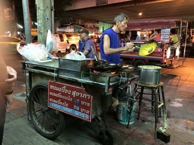 ร้านอาหาร ขนมเบื้องญวน สุอาภา ตลาดพลู