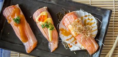 Misora Sushi Bar&Bistro ซูชิพรีเมียมคำใหญ่ ส่งตรงความสดอร่อยแบบฟิวชั่น