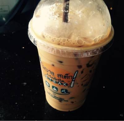 Iced Espresso ที่ ร้านอาหาร Mobile Steak & Coffee