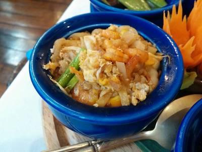 ผัดไทย ที่ ร้านอาหาร Blue Elephant