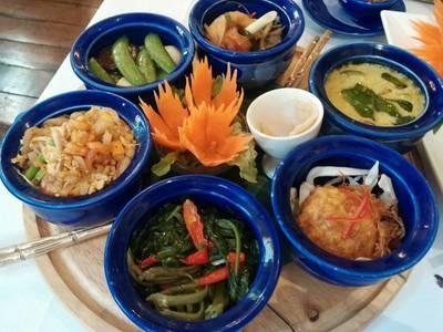 Weekend Set Lunch ที่ ร้านอาหาร Blue Elephant