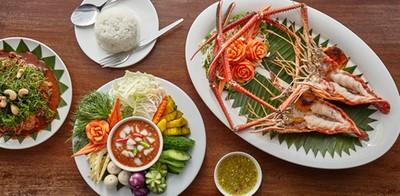 จัดจ้านเครื่องเคราของอาหารไทย ที่ชายน้ำ@ครัวคุณกุ้ง