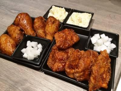 ร้านอาหาร BonChon Chicken ซีนสเปซ ทองหล่อ 13