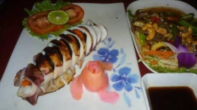 ร้านอาหาร ตะวันแดง มหาซน อุบล