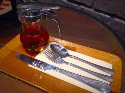 อุปกรณ์  ที่ ร้านอาหาร Coffee Industry ราชพฤกษ์