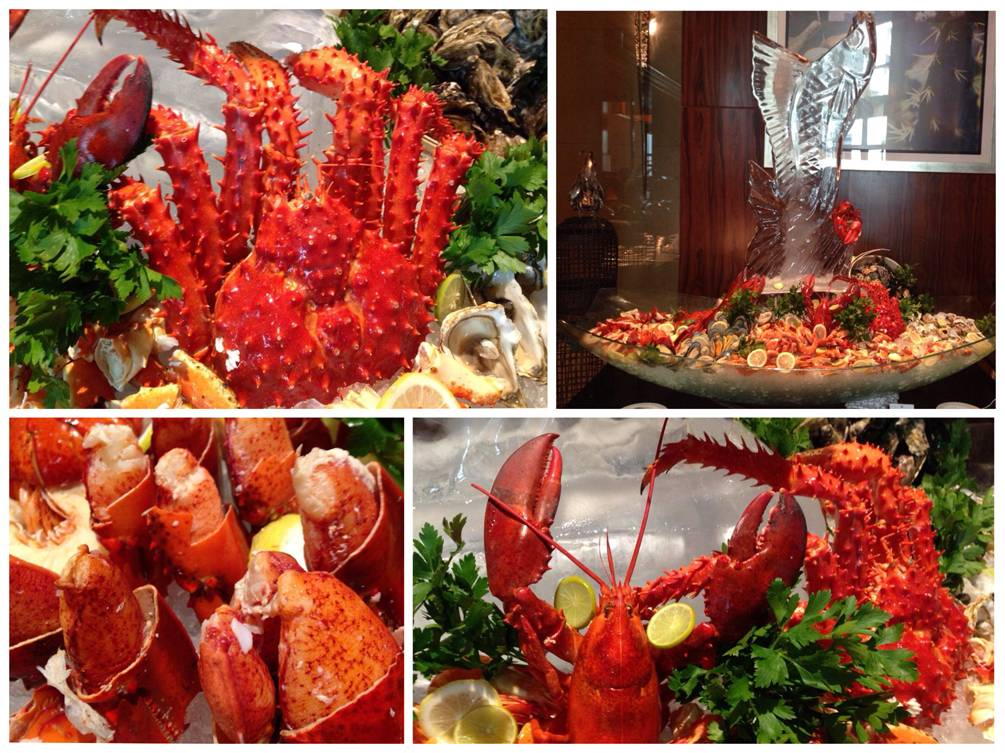 Magnifique Seafoods ที่ ร้านอาหาร Brasserie Europa โรงแรมสยามเคมปินสกี้