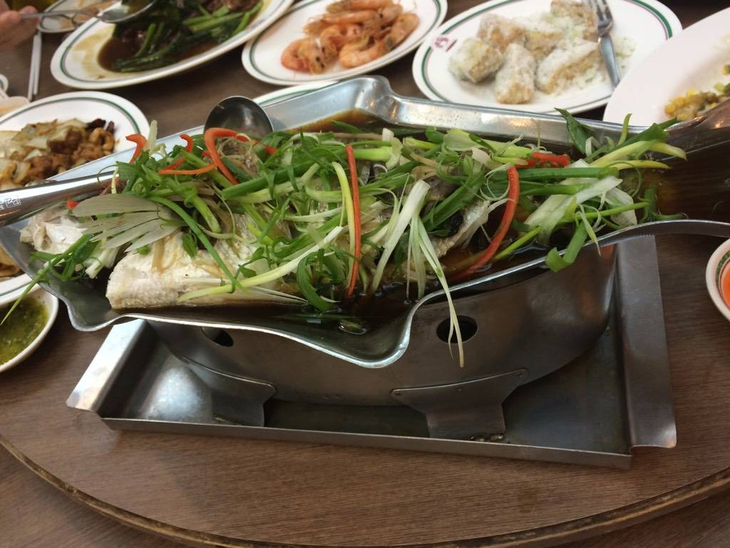 ปลานึ่งซีอิ๊ว ที่ ร้านอาหาร สมบูรณ์โภชนา อุดมสุข
