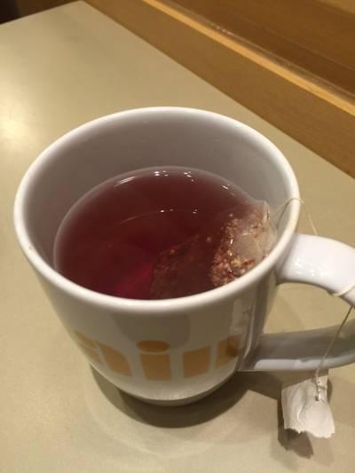 Blackcurrant Organic Tea ที่ ร้านอาหาร Au Bon Pain J Avenue