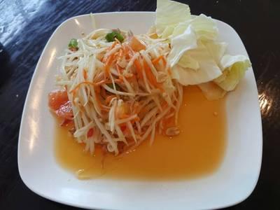 ส้มตำไทจ๊ะ ที่ ร้านอาหาร ซาวมาย