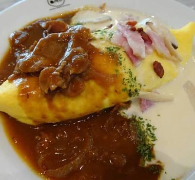 ร้านอาหาร Omu Japanese omurice & cafe เซ็นทรัลเวิลด์