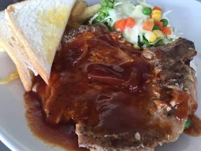 พ็อคช็อป ที่ ร้านอาหาร สเต็กสามย่าน (ทูเดย์ สเต็ก)