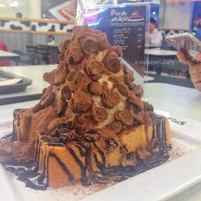 Kok Crunch ที่ ร้านอาหาร MILK PLUS ➕  มิลค์พลัส สยามสแควร์