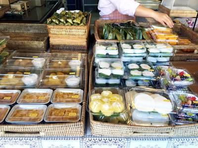 ขนมต่างๆ !! ที่ ร้านอาหาร หวานละมุน กลางเวียง-เมืองเก่า(คูเมืองชั้นใน)