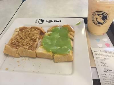 ร้านอาหาร MILK PLUS ➕  มิลค์พลัส สยามสแควร์