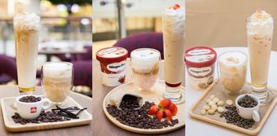 """การจับคู่ที่คอกาแฟและไอศกรีมต้องลอง! กับลาเต้พรีเมียมที่ """"Häagen-Dazs"""""""
