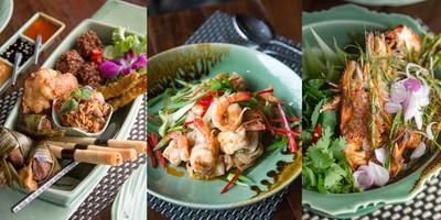 แม่ประนอมพาชิมอาหารไทยสไตล์ฟิวชั่นใจกลางกรุง ร้าน Apinara Thai Cuisine