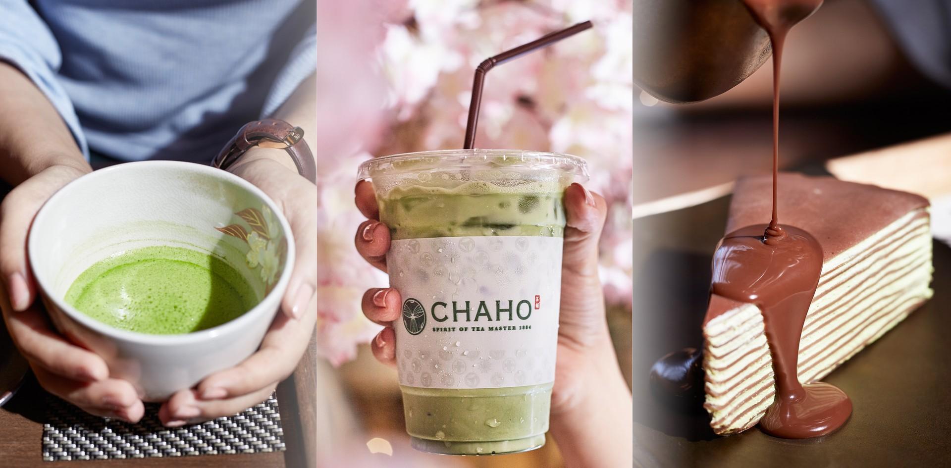 รักชาเขียวต้องโดน!  จิบชามัทฉะเข้มข้นคู่ขนมหวานญี่ปุ่นที่ Chaho