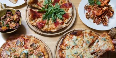 """ขยายกระเพาะให้พร้อม! ต้อนรับพิซซ่าพรีเมียมหน้าตู้มที่ """"Tops&Ten Pizza"""""""