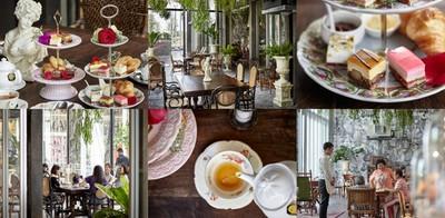 จิบชานำเข้าพร้อมชิมบรรยากาศในสไตล์ฝรั่งเศส @Thé Tea House