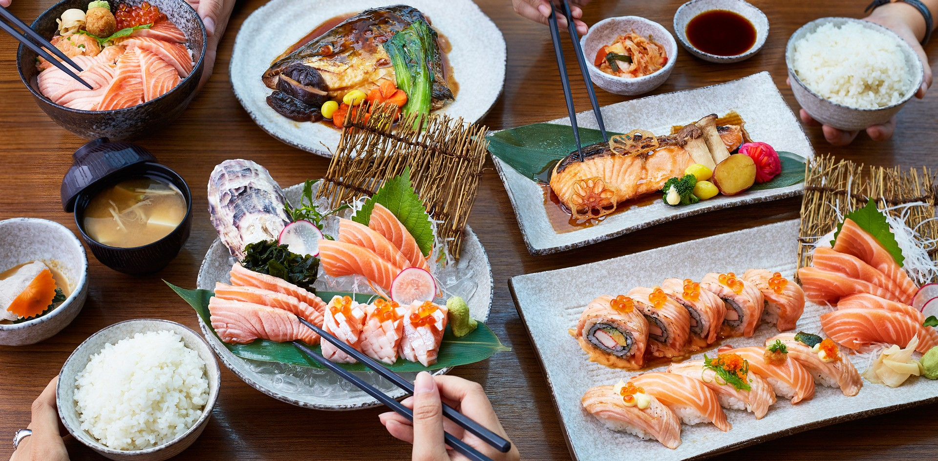 ล่าแซลมอนกันไม่ยั้ง! ในเทศกาล Salmon Hunter เริ่มต้นเพียง 250 บาท @ZEN