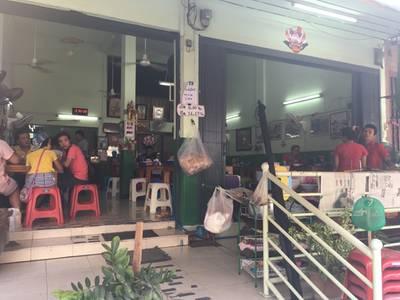 บรรยากาศร้าน ที่ ร้านอาหาร ก๋วยเตี๋ยวเรือลุงชลอ (ก๋วยเตี๋ยวโปร) ตลาดศรีเขมา