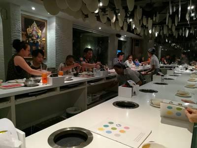 บรรยากาศร้าน ที่ ร้านอาหาร OK SHABU SHABU