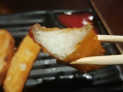 มันฝรั่งทอดปรุงรสสไตล์ญี่ปุ่น : ด้านในขาวๆ ดูน่าทานจ๊ะ ที่ ร้านอาหาร Chabuton เซ็นทรัล ลาดพร้าว