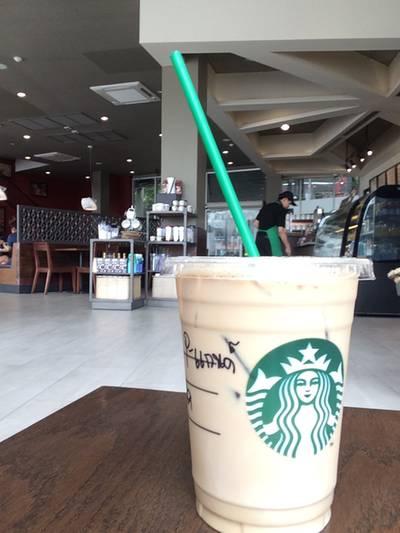 อีกนิดจะสะกดถูกระ ที่ ร้านอาหาร Starbucks The Scene Town In Town
