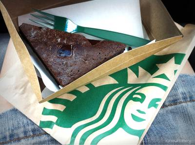 Espresso Chocolate Brownie ที่ ร้านอาหาร Starbucks The Scene Town In Town