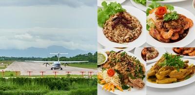 พบประสบการณ์ทานอาหาร พร้อมชมวิวเครื่องบินขึ้น-ลง ที่ ครัวรันเวย์ ลำปาง