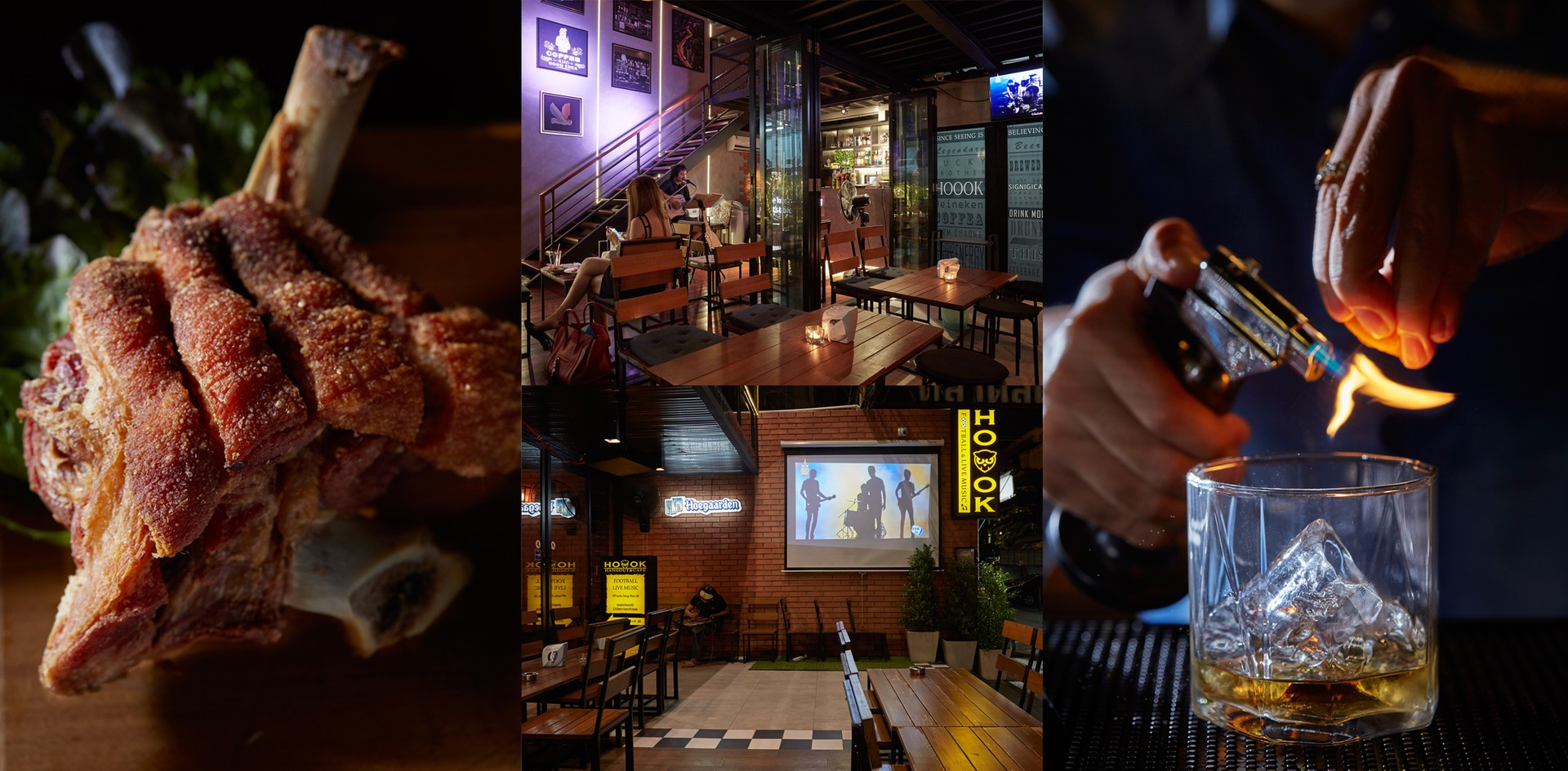 แฮงเอาท์สุดชิลล์ เริ่มต้น 59 พร้อมส่วนลด 50% @ Hoook Hangout & Cafe