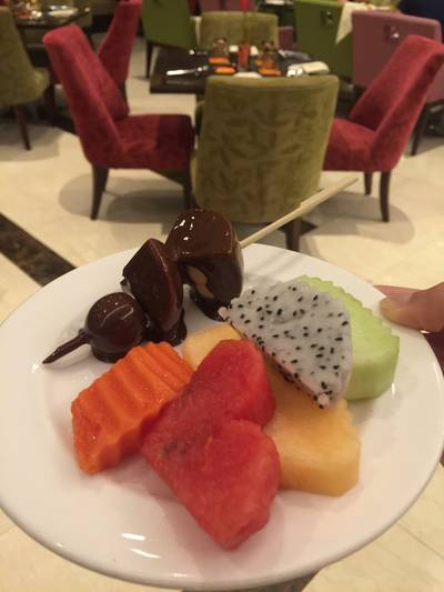 ร้านอาหาร Grand Cafe โรงแรมเดอะแกรนด์โฟร์วิงส์