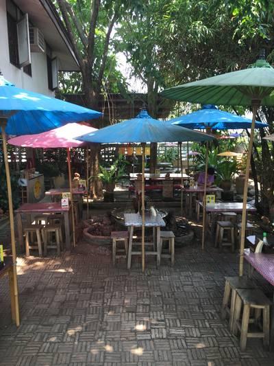 ร้านอาหาร ร้านในสวนอารมณ์ดี
