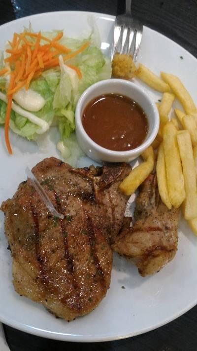ร้านอาหาร Santafe Steak แฟชั่นไอส์แลนด์