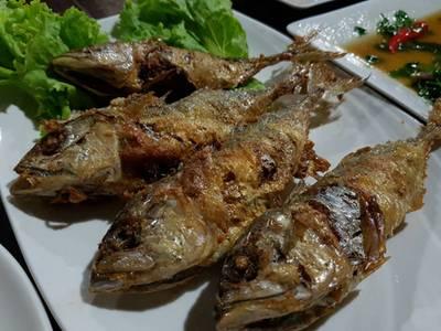 ห่อหมกปลาทู อร่อย ที่ ร้านอาหาร ครัวธรรมชาติ กาญจนบุรี