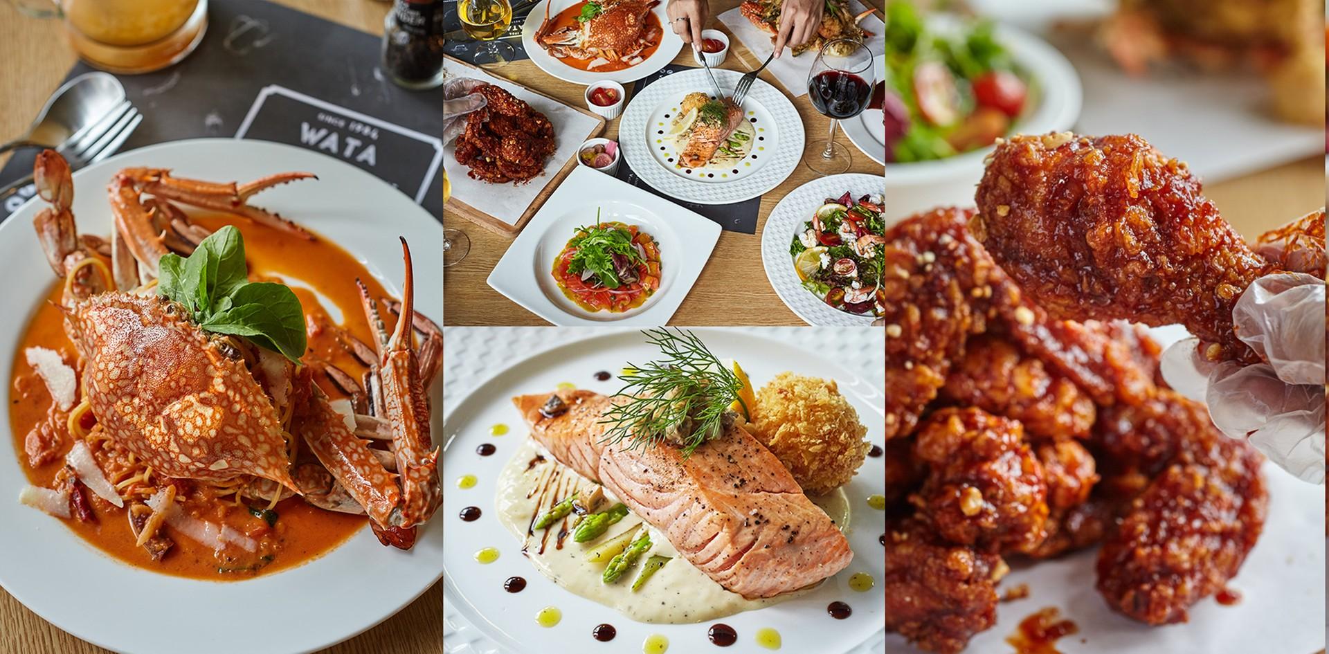 ตอบโจทย์ทุกปาก! อาหารฟิวชั่นพรีเมียมสไตล์ยุโรปจรดเกาหลีที่ Wata Fusion