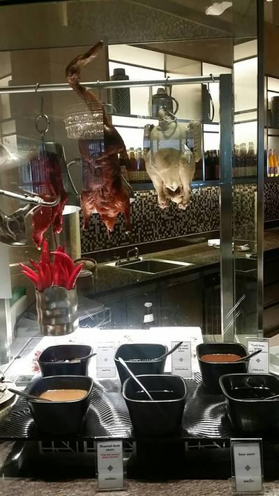 บรรยากาศร้าน • โซนเป็ดย่าง หมูแดง ฮะเก๋า ติ๋มซำ ที่ ร้านอาหาร Espresso โรงแรมอินเตอร์คอนติเนนตัล