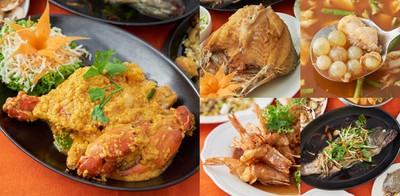 กินอาหารทะเลสดใหม่ เนื้อแน่น รสหวานฉ่ำ ที่ ชาวฟ้าทะเลคราม