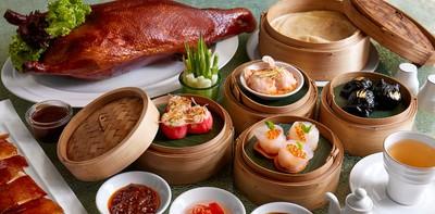 """คีบกันสะท้านโต๊ะ!! บุฟเฟ่ต์ติ่มซำระดับ VIP ห้องอาหาร """"Loong Foong"""""""