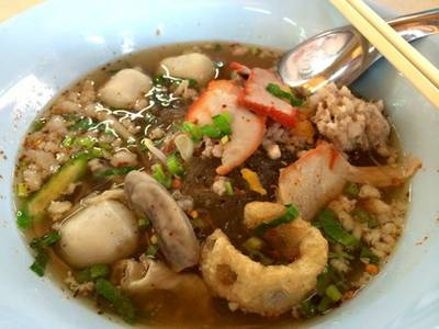 ร้านอาหาร ตลาดน้ำขวัญเรียม มีนบุรี