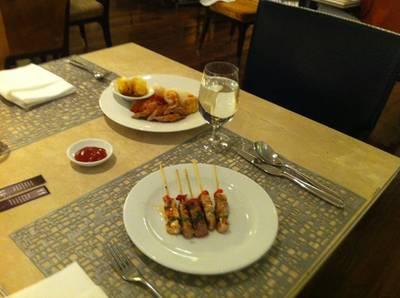 เตรียมทาน ที่ ร้านอาหาร Espresso โรงแรมอินเตอร์คอนติเนนตัล